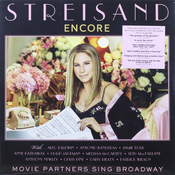 Barbra Streisand Barbra Streisand - Encore: Movie Partners Sing Broadway барбра стрейзанд barbra streisand partners 2 lp cd
