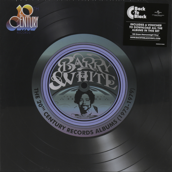 Barry White Barry White - The 20th Century Records Albums (9 LP) sun records 9 classic albums 4 cd
