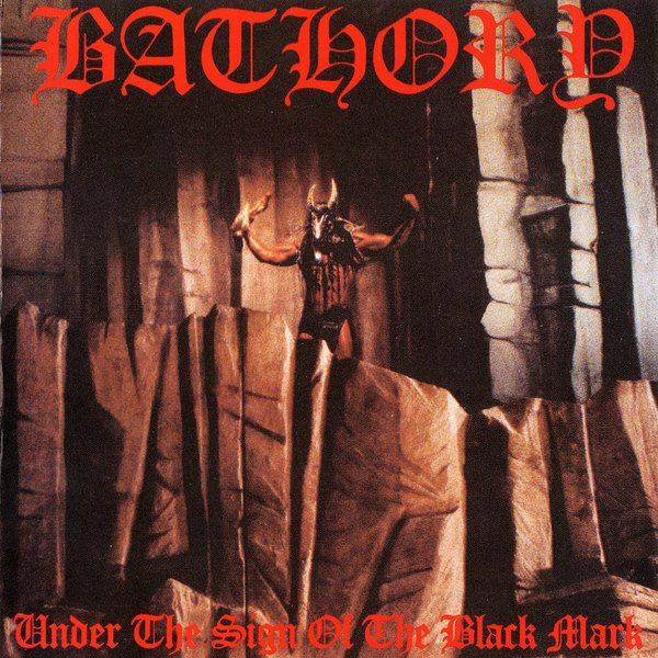 Bathory Bathory - Under The Sign Of The Black Mark цена и фото