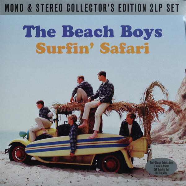 Beach Boys Beach Boys - Surfin' Safari (2 LP) beach boys beach boys that s why god made the radio