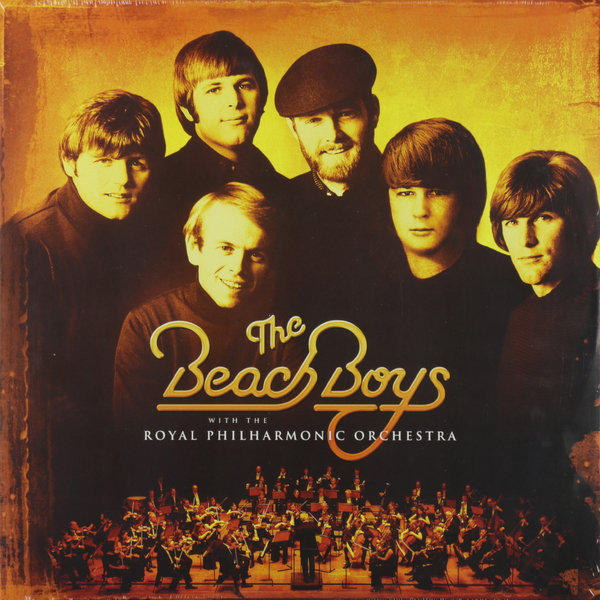 Beach Boys Beach Boys - Beach Boys With The Royal Philharmonic Orchestra (2 LP) metal chain buckles leisure beach sandals