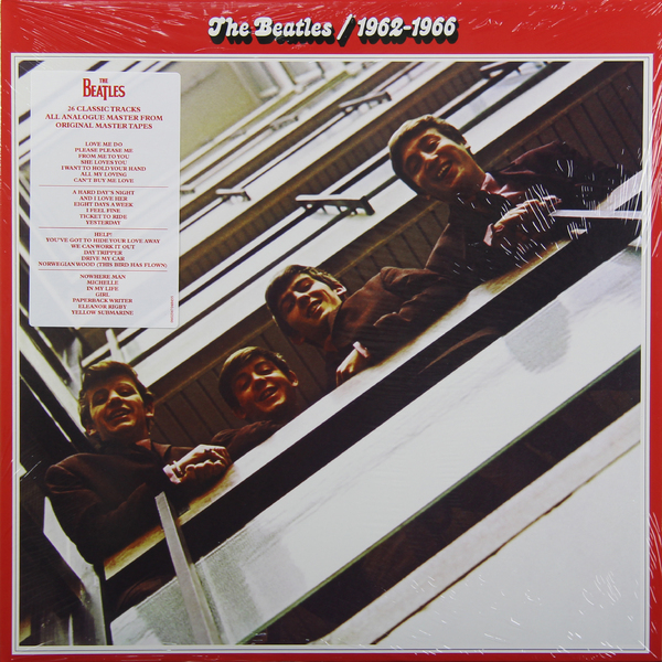 Beatles Beatles - 1962-1966 (2 LP) виниловая пластинка the beatles 1962 1966 remastered