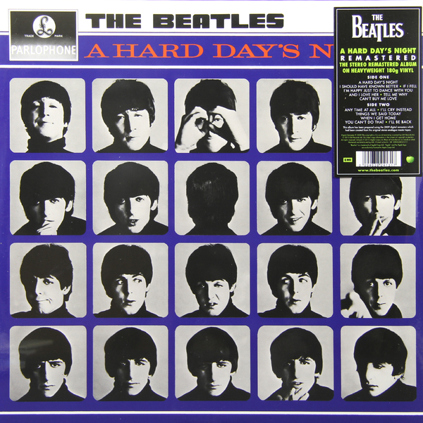 Фото - Beatles Beatles - A Hard Day`s Night (180 Gr) beatles beatles revolver 180 gr