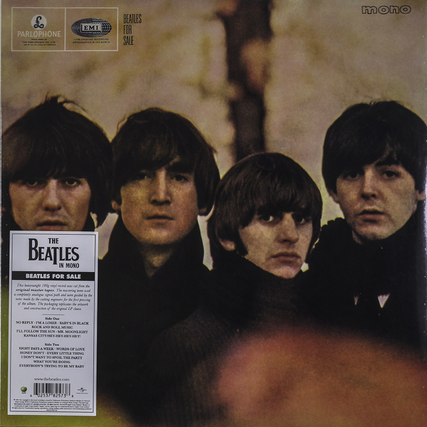Beatles Beatles - Beatles For Sale (mono) beatles beatles beatles for sale 180 gr