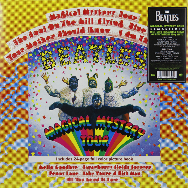 Фото - Beatles Beatles - Magical Mystery Tour (180 Gr) beatles beatles revolver 180 gr