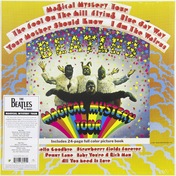 Beatles Beatles - Magical Mystery Tour (mono) the beatles magical mystery tour memories