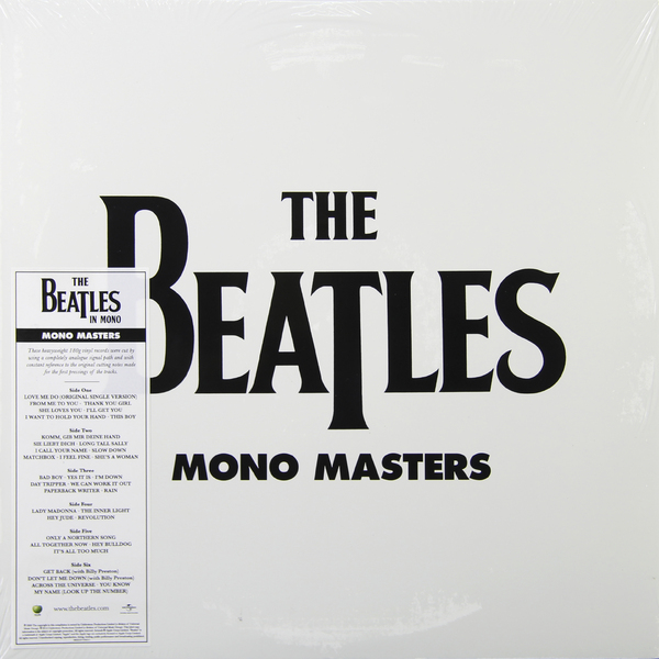 все цены на Beatles Beatles - Mono Masters (3 LP)