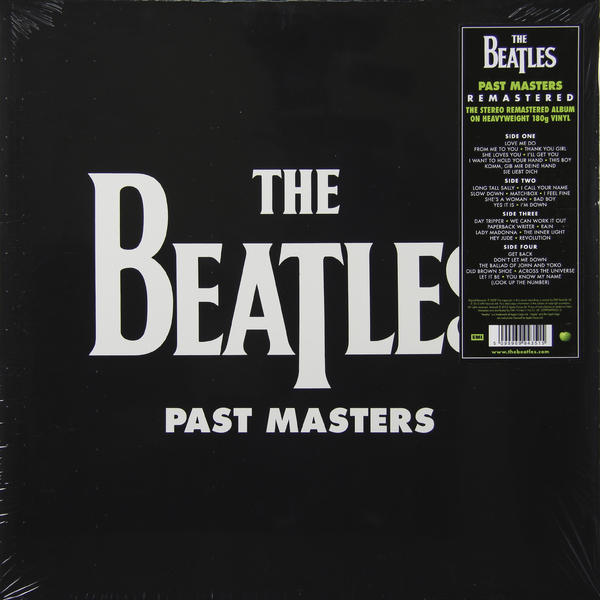 Фото - Beatles Beatles - Past Masters (2 LP) beatles beatles revolver 180 gr