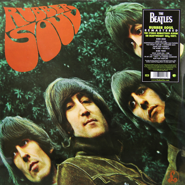 цена на Beatles Beatles - Rubber Soul (180 Gr)