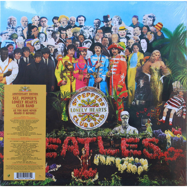 Beatles Beatles - Sgt. Pepper's Lonely Hearts Club Band (2 LP) beatles beatles anthology 3 3 lp