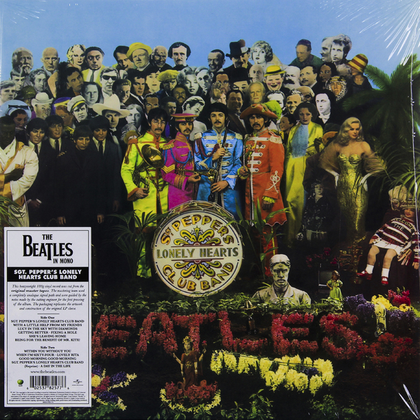 Beatles Beatles - Sgt. Pepper's Lonely Hearts Club Band (mono) beatles beatles help 180 gr