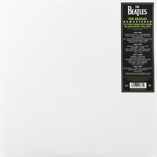 Beatles Beatles - The Beatles (the White Album) (2 Lp, 180 Gr) the beatles tribute party 2018 11 23t23 00