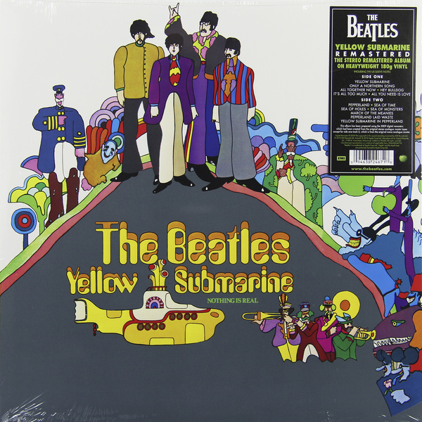 Beatles Beatles - Yellow Submarine (180 Gr) beatles beatles beatles for sale 180 gr