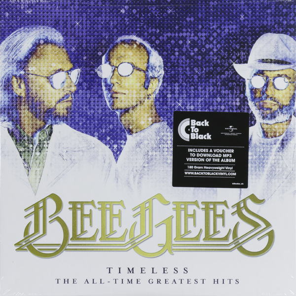 Bee Gees Bee Gees - Timeless: The All-time Greatest Hits (2 LP) the cure the cure greatest hits 2 lp