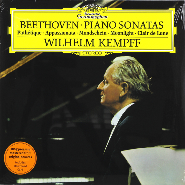 Beethoven BeethovenWilhelm Kempff - : Piano Sonatas Nos. 8, 14, 23
