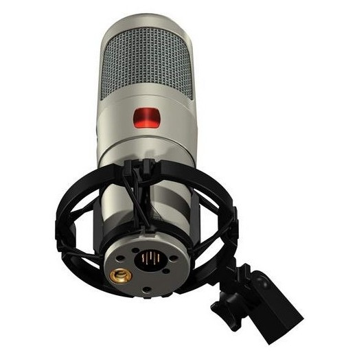 Студийный микрофон Behringer T-1 TUBE CONDENSER MICROPHONE kfw wk u8700 беспроводной микрофон u band микрофон karaoke stage speech microphone school conference ktv one tail два микрофона
