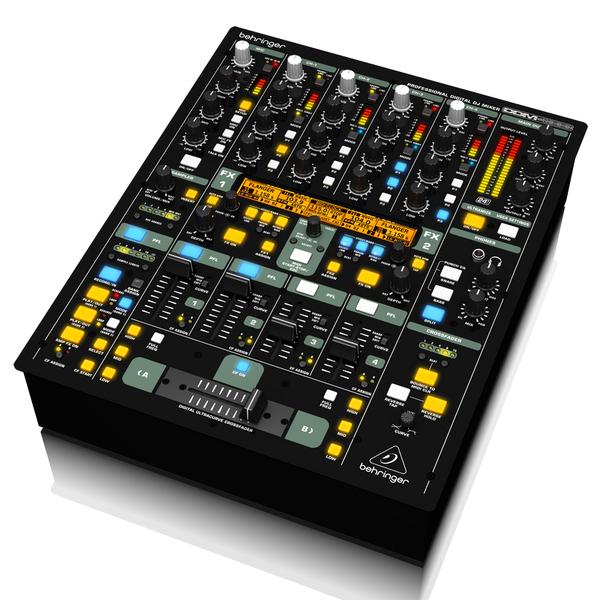 DJ микшерный пульт Behringer DDM4000 микшерный пульт с усилением behringer pmp4000 europower