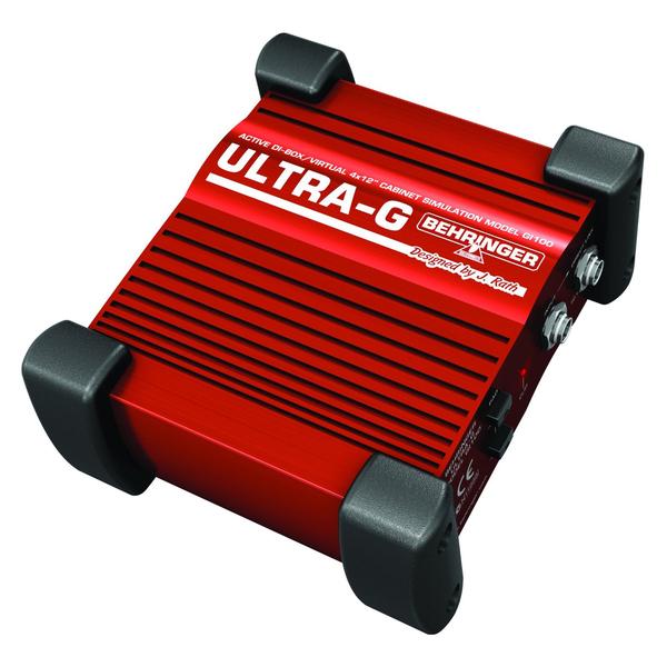 Директ-бокс Behringer ULTRA-G GI100 ди бокс behringer ultra g gi100