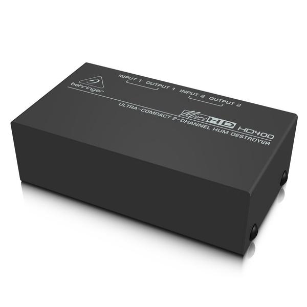 Директ-бокс Behringer HD400 MICROHD ди бокс behringer ultra g gi100