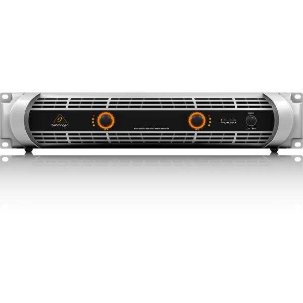 Профессиональный усилитель мощности Behringer iNUKE NU1000 усилитель мощности 850 2000 вт 4 ом crown dsi 1000
