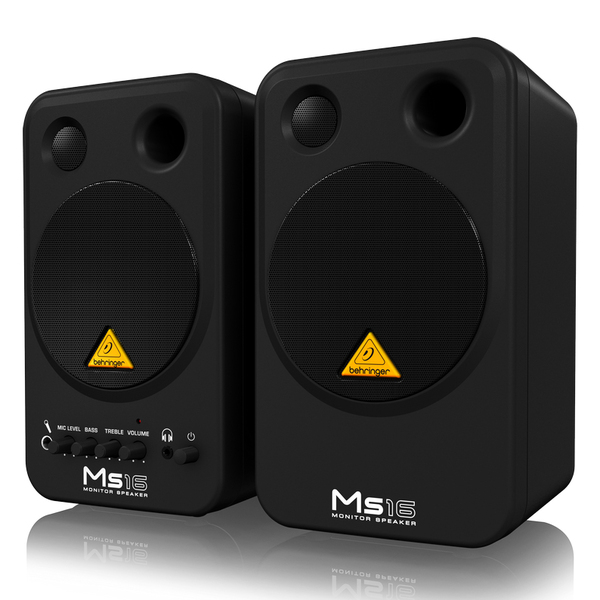 Мониторы для мультимедиа Behringer MS16 студийные мониторы behringer media 40usb