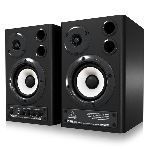 Студийные мониторы Behringer MS20 колонка behringer digital monitor speakers ms20