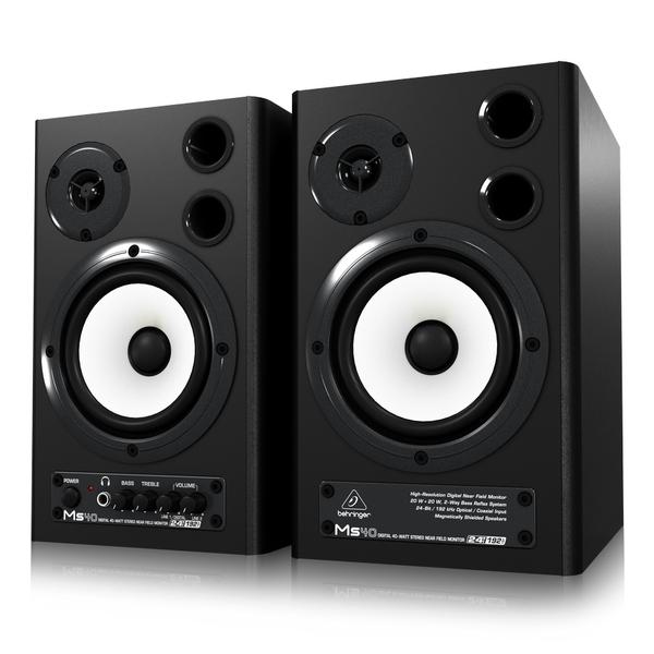 Студийные мониторы Behringer MS40 студийные мониторы behringer контроллер для мониторов monitor2usb