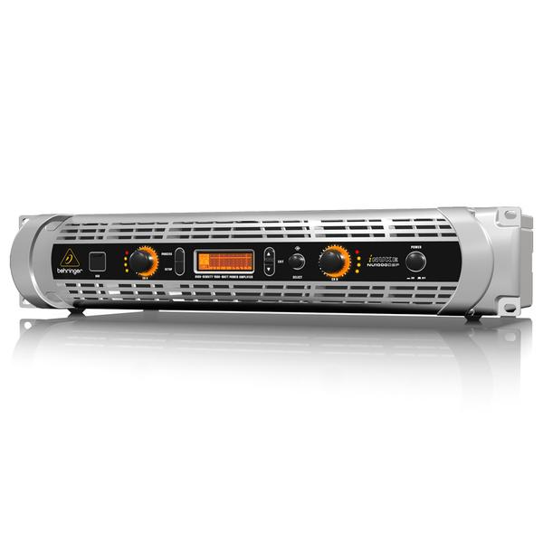 Профессиональный усилитель мощности Behringer iNUKE NU1000DSP усилитель мощности 850 2000 вт 4 ом crown dsi 1000