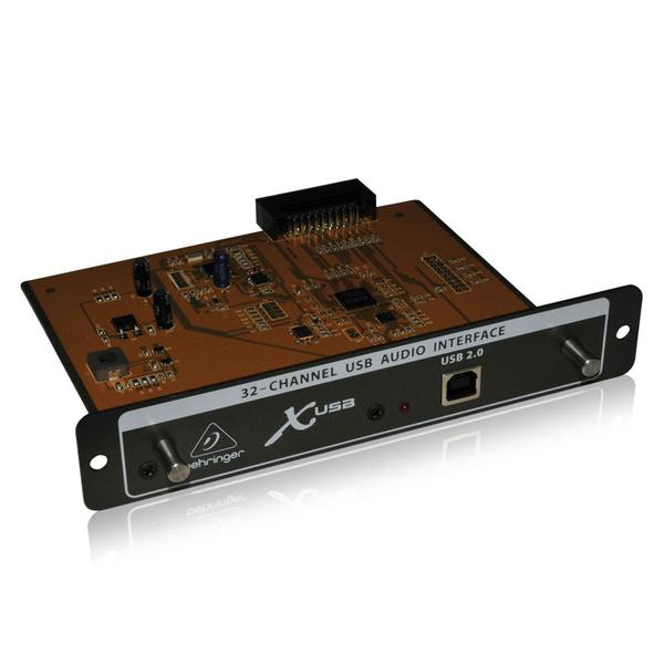 Плата расширения Behringer X-USB аудиоинтерфейс behringer ucg102