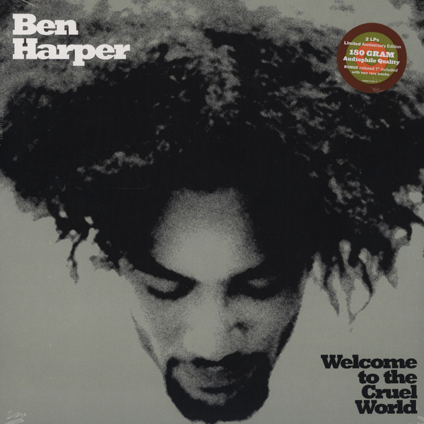 все цены на Ben Harper Ben Harper - Welcome To The Cruel World (lp + 7 )
