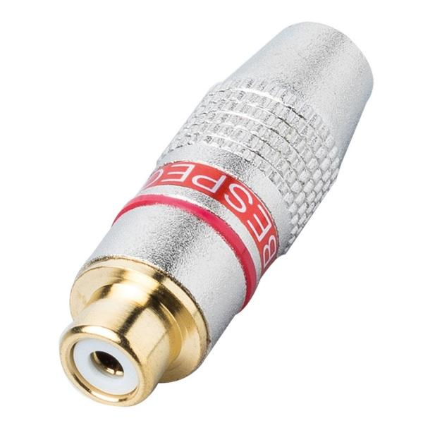 Разъем RCA Bespeco FMRCAR Silver/Red