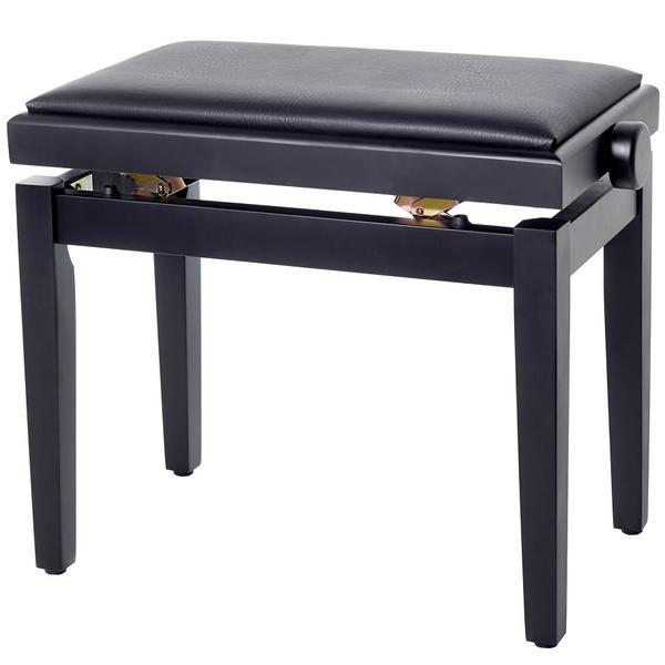 Банкетка для пианино Bespeco SG101BSSN Matt Black/Black Vinyl