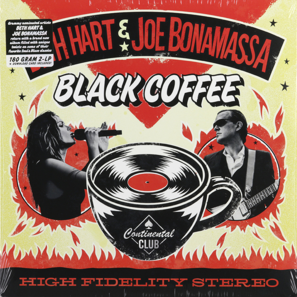 Beth Hart Joe Bonamassa Beth Hart Joe Bonamassa - Black Coffee (2 Lp, 180 Gr) joe bonamassa joe bonamassa british blues explosion live 3 lp 180 gr