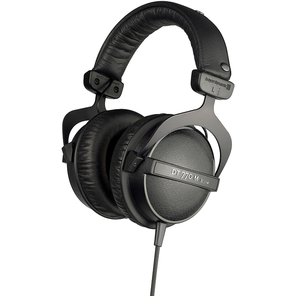 Охватывающие наушники Beyerdynamic DT770 M 80 Ohm Black beyerdynamic dt 770 pro 80 ohm