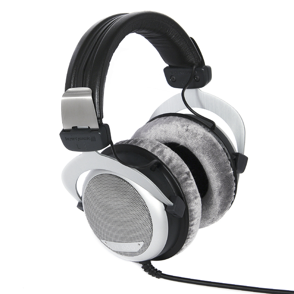 Охватывающие наушники Beyerdynamic DT880 250 Ohm Black/Silver beyerdynamic dt 990 pro 250 ohm hi fi headphones professional studio headsets open back headband headpones made in germany