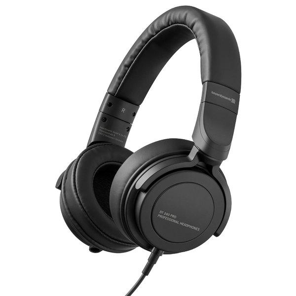 Накладные наушники Beyerdynamic DT 240 Pro Black цена