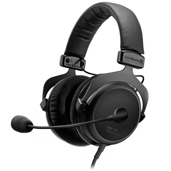Охватывающие наушники Beyerdynamic MMX 300 2nd Generation Black beyerdynamic mmx 102 ie