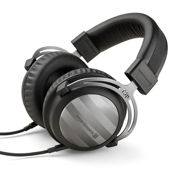 Охватывающие наушники Beyerdynamic T5p 2nd Generation Black/Silver цена