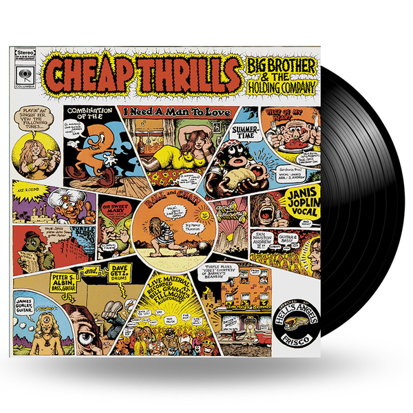 Big Brother And The Holding Company Big Brother And The Holding CompanyBig Brother The Holding Company - Cheap Thrills фото