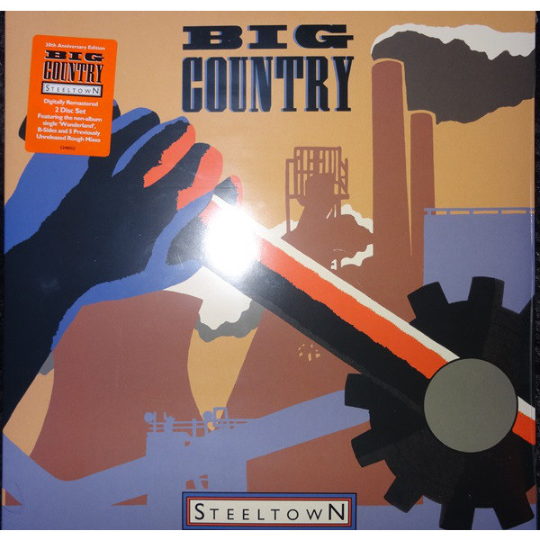 Big Country Big Country - Steeltown (2 LP) форма для 6 маффинов silver