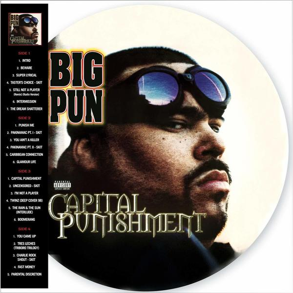 Big Pun Big Pun - Capital Punishment (20th Anniversary) (2 Lp, Picture) punisher epic collection capital punishment