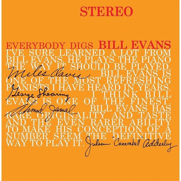 Bill Evans Bill Evans Trio - Everybody Digs Bill Evans the bill evans trio bill evans trio explorations