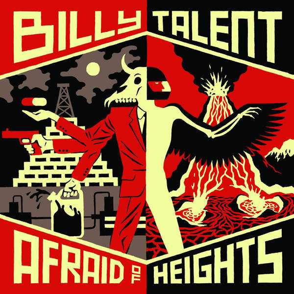 Billy Talent Billy Talent - Afraid Of Heights (2 Lp, 180 Gr) tefal talent k0800414