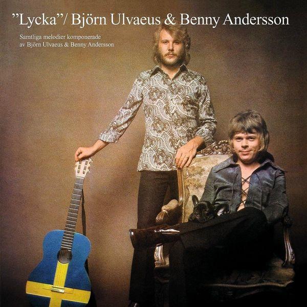 ABBA ABBABjorn Ulvaeus   Benny Andersson - Lycka (colour) abba abbabjorn ulvaeus benny andersson lycka