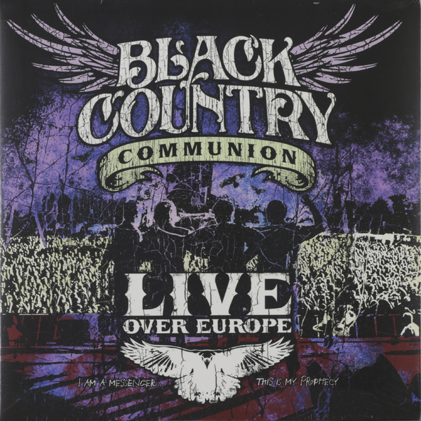 Black Country Communion Black Country Communion - Live Over Europe (2 LP) country pursuits