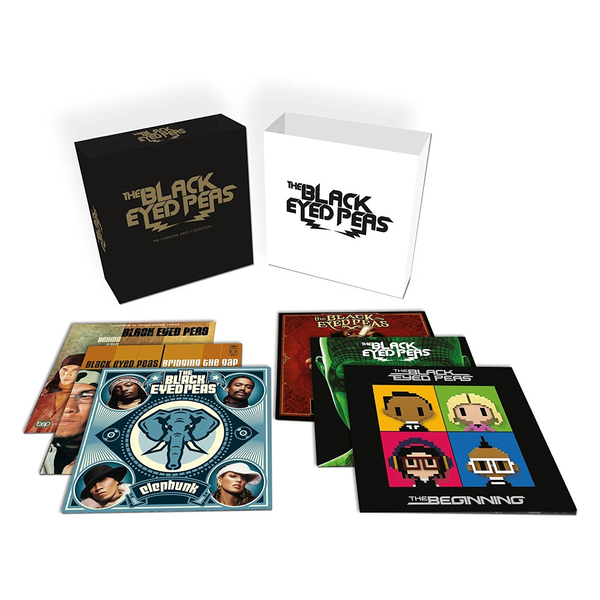лучшая цена Black Eyed Peas Black Eyed Peas - Complete Vinyl Collection (12 LP)