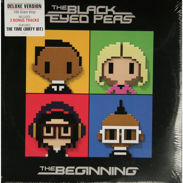 Black Eyed Peas Black Eyed Peas - The Beginning чаша горошек 2 л бел син 1150426