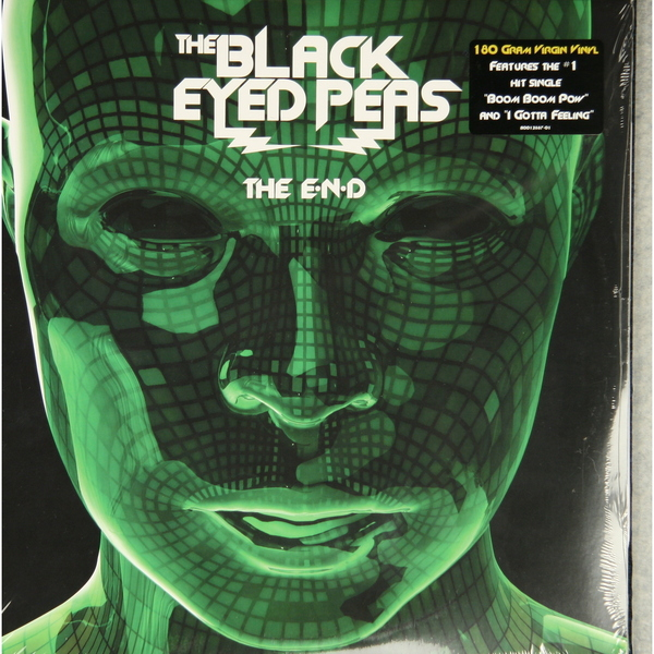 Black Eyed Peas Black Eyed Peas - The E.n.d. (2 Lp, 180 Gr) the black crowes the black crowes three snakes and one charm 2 lp