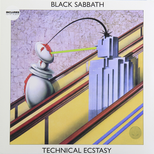 Black Sabbath Black Sabbath - Technical Ecstasy цена