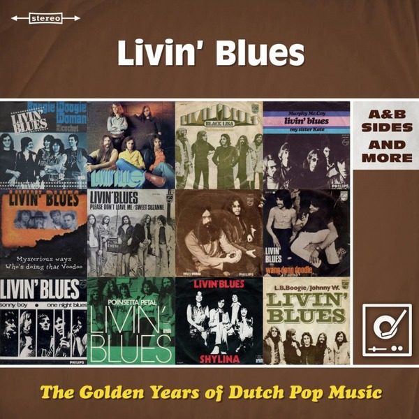 Livin' Blues Livin' Blues - Golden Years Of Dutch Pop Music (2 LP) стул dutch 2